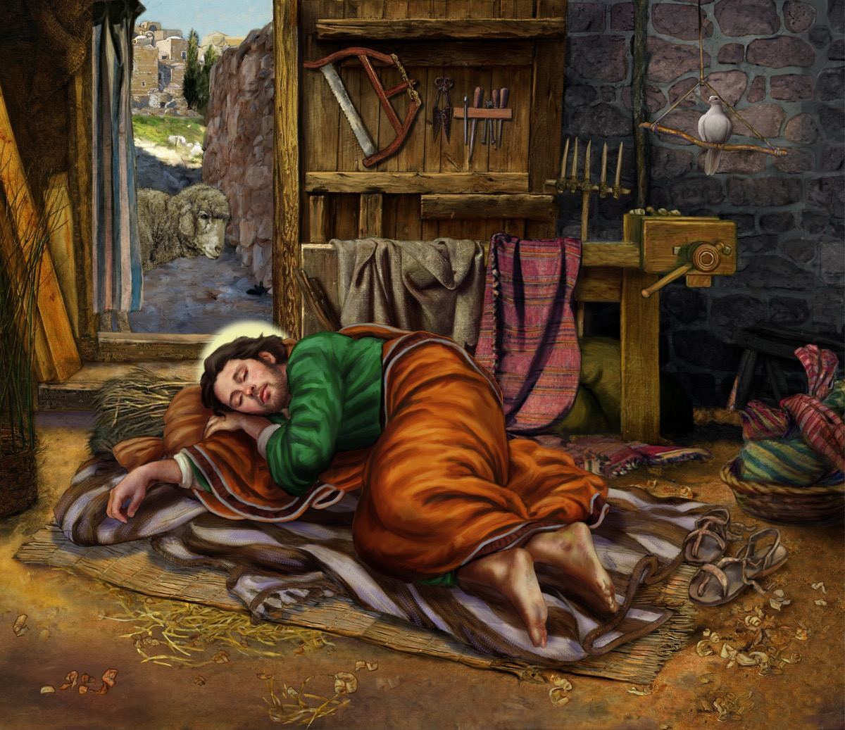 Saint Joseph Sleeping